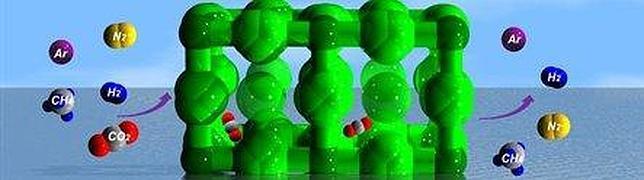 Crean un nuevo material poroso capaz de absorber el CO2