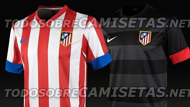 8932ea604f5a3 Filtrada la nueva camiseta del Atlético de Madrid para la temporada 2012-13