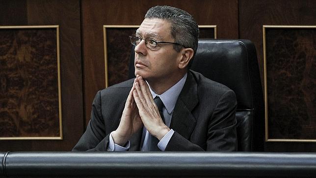 Gallardón presentará una ley que permita al juez decidir la custodia de los hijos