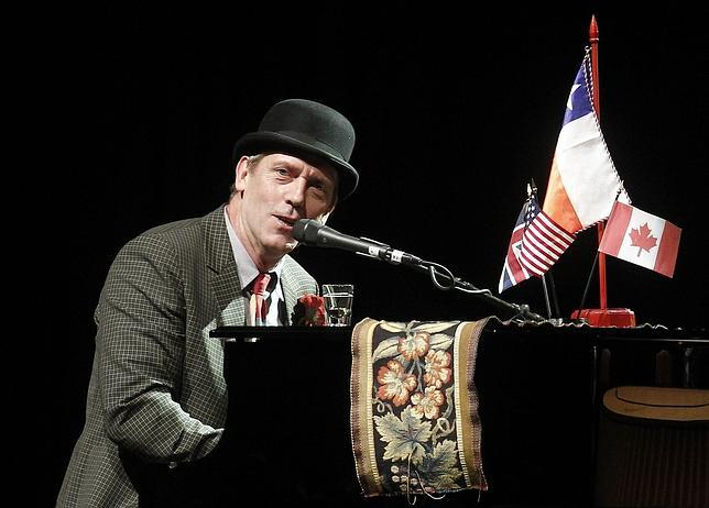 Queso, chocolate, co�ac y una Harley Davidson para Hugh Laurie en Kiev