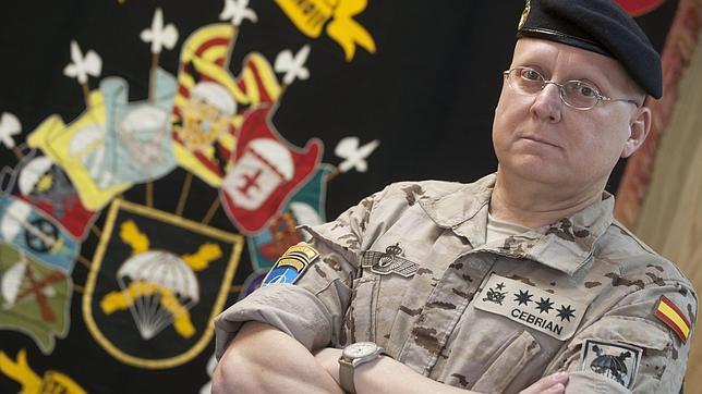 El coronel luis cebri n el pasado lunes en la base pr ncipe de paracuellos del jarama horas - Tiempo en paracuellos del jarama ...