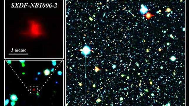 Una galaxia casi tan antigua como el Universo