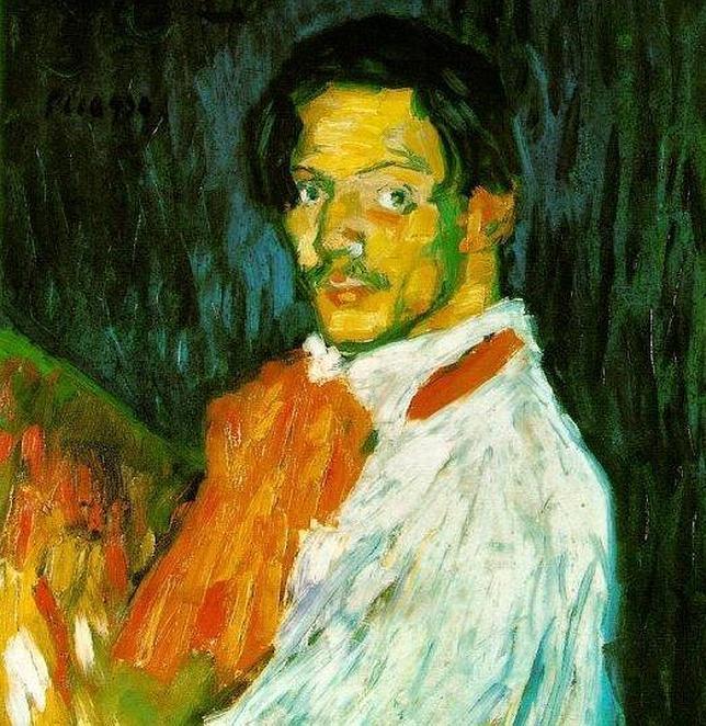 Uno de los numerosos autorretratos que pintó Picasso a lo largo de su carrera. ABC
