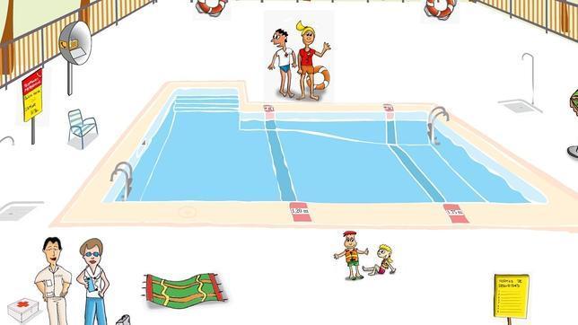 Un ni o puede ahogarse en un minuto y con 30 cent metros for Clases de piscina para ninos