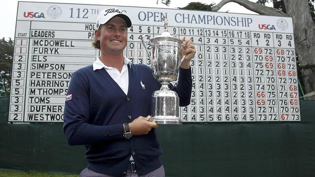 Webb Simpson, h�roe local en el US Open