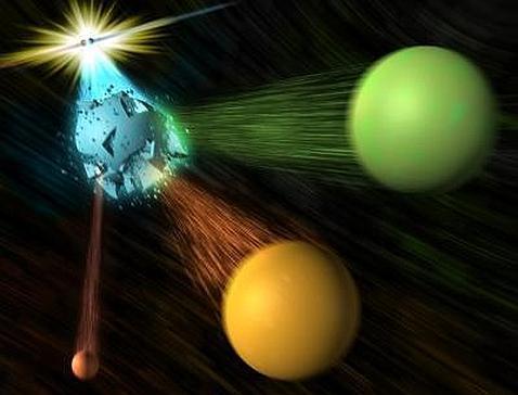 ¿Hallado un «agujero» en el modelo estándar de la Física?