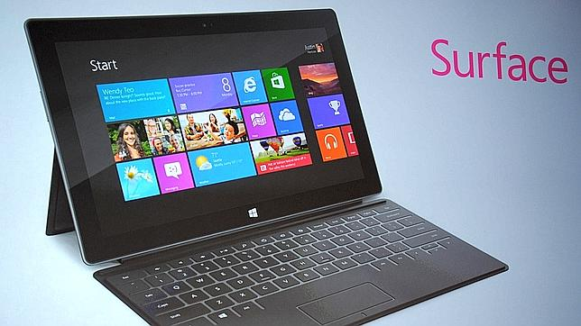 Surface, el intento de Microsoft por destronar al iPad