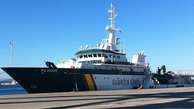 «Río Segura», la joya del Servicio Marítimo de la Guardia Civil