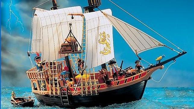 Barco pirata de playmobil for Barco pirata playmobil