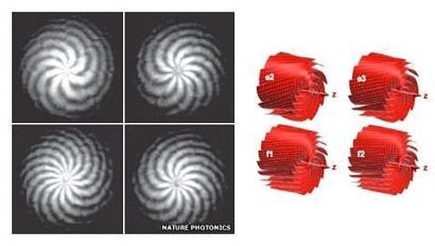 Científicos «doblan» rayos de luz para enviar datos a una velocidad sin precedentes