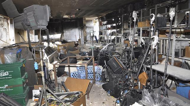 Opositores sirios asaltan una televisión del Gobierno y matan a siete personas