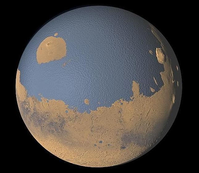 ¡Sorpresa! Marte está lleno de agua