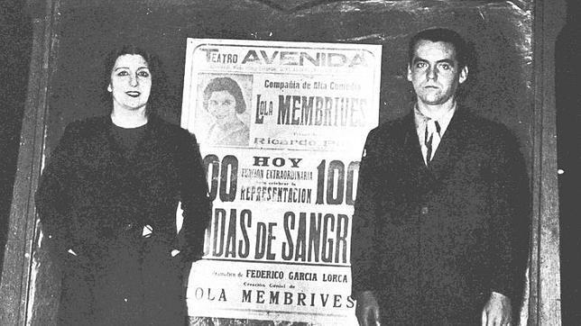 Así era la voz de Lola Membrives en «Bodas de sangre». centro documentación teatral