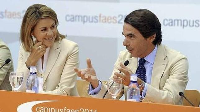Cospedal y Aznar inauguran hoy el Campus FAES, que clausurará Rajoy