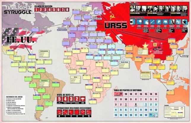 Un tablero para cada crisis for La resistencia juego de mesa