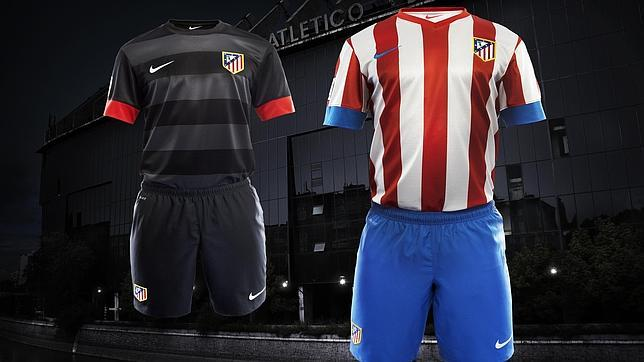 Así es la nueva camiseta del Atlético de Madrid para la temporada 2012-13 d1f2cbf523c