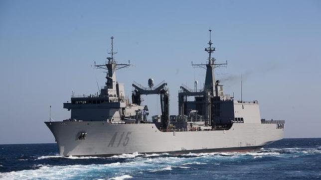 Resultado de imagen de buque logístico Cantabria