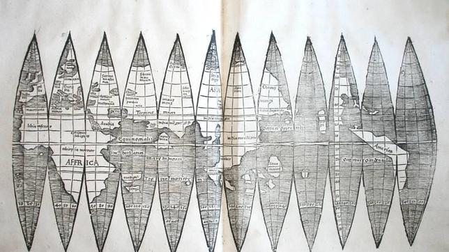 Descubren en Alemania el primer mapamundi en el que figura América
