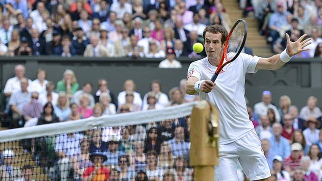Andy Murray, un brit�nico en la final de Wimbledon 74 a�os despu�s