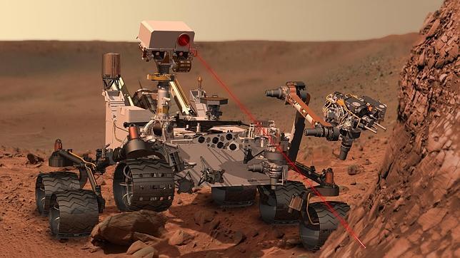 La vida en Marte podría estar al alcance del rover Curiosity