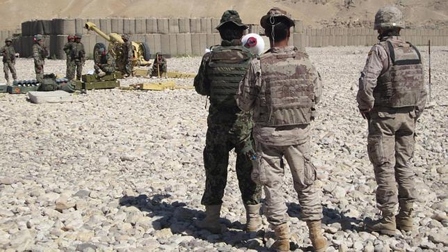 Herido de bala en Afganistán un militar español en el hostigamiento a una patrulla