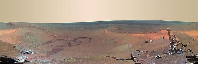 Una foto de Marte «casi tan buena como estar ahí»
