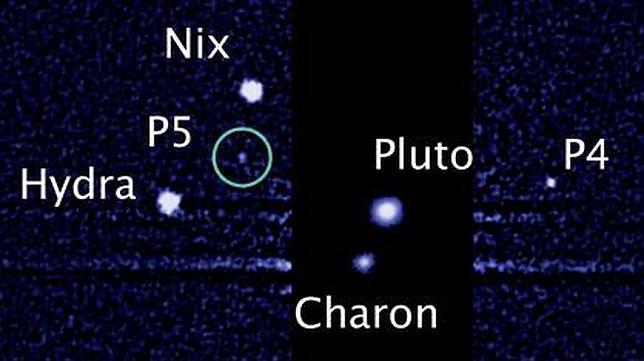 Descubren la quinta luna de Plutón