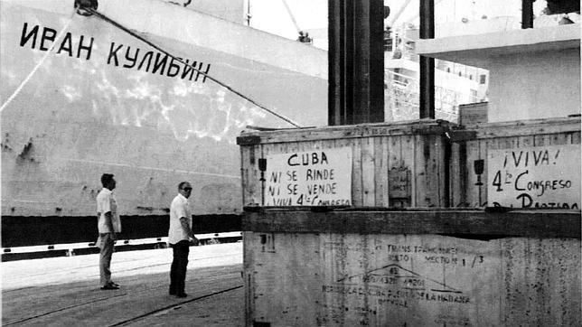 El primer barco de mercancías entre EE.UU. y Cuba en 50 años