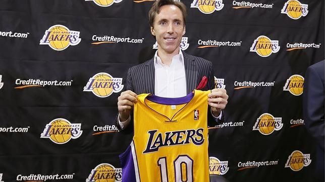 Los Lakers se arman con el enemigo: Steve Nash