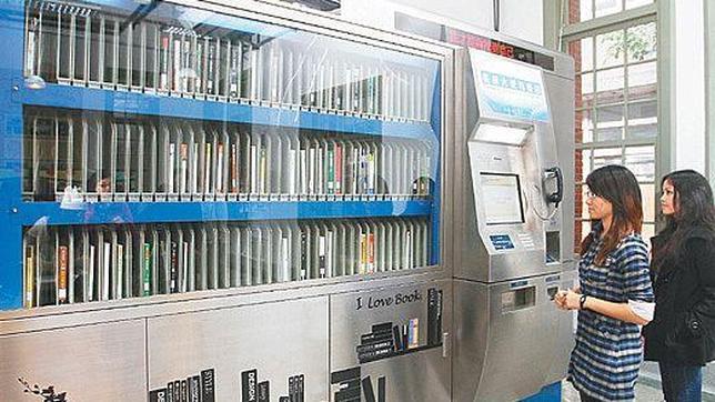 Pekín instala en sus calles máquinas expendedoras de libros