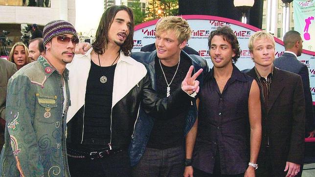 Los cinco Backstreet Boys, juntos de nuevo