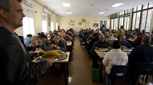 Comedor social en Madrid - ABC.es