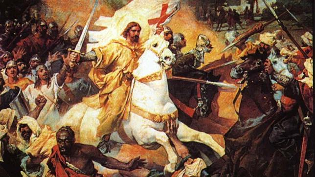 Santiago, aquel guerrero desconocido sobre el caballo blanco