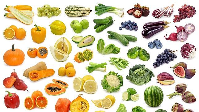 Imagenes para imprimir de todas las frutas y verduras a color - Imagui