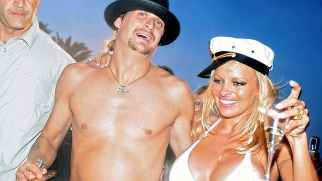Pamela Anderson se emborracha en la fiesta de «Dancing with the stars»