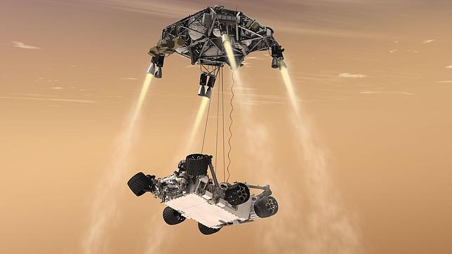 Diez claves sobre el Curiosity antes de su aterrizaje en Marte