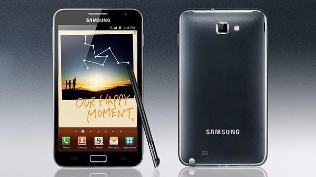 El nuevo Galaxy Note saldra antes que el iPhone 5