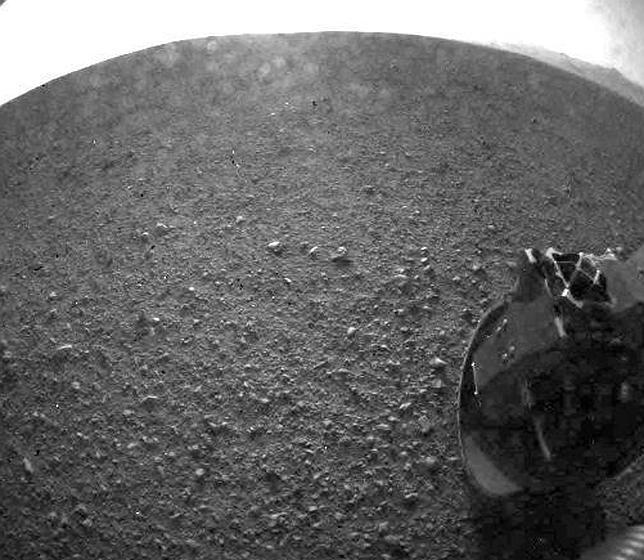 La mejor foto del Curiosity en Marte (hasta el momento)