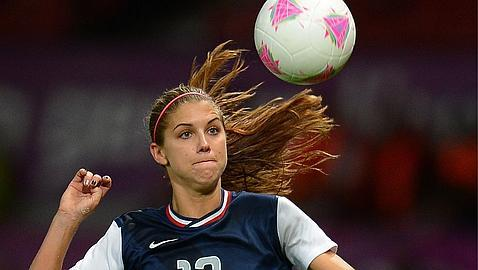 Londres 2012: Alex Morgan, la guapa de la final