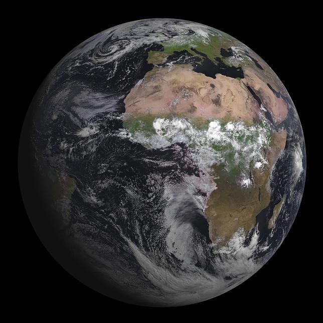 La primera y espectacular foto de la Tierra del nuevo Meteosat