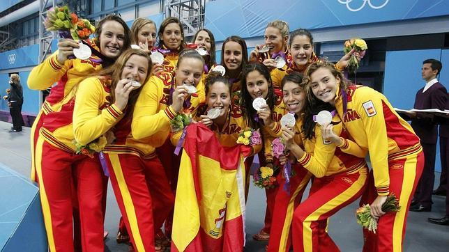 Londres 2012 espa a una plata para la historia m s bonita - Las chicas de oro espana ...