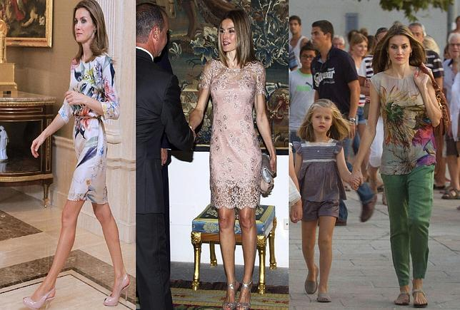 3 looks de verano de Do�a Letizia