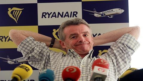 Tres aviones de Ryanair volaron casi sin combustible sobre Valencia