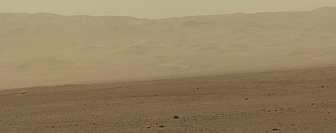 El Curiosity ya envía grandes imágenes en alta resolución