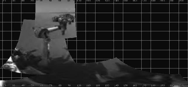 El Curiosity extiende su brazo robótico por primera vez