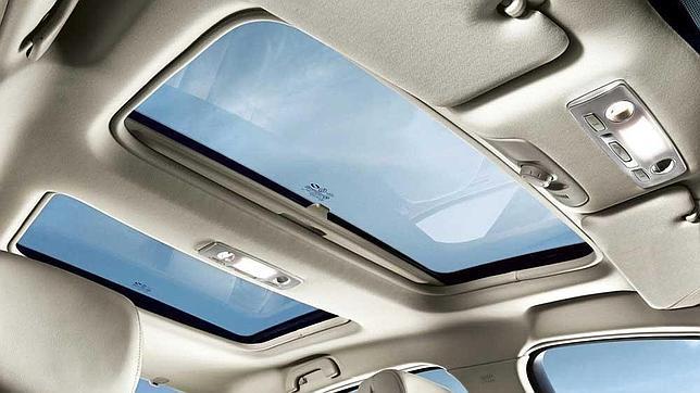 coche techo solar: