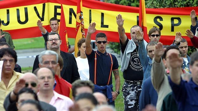 Nazis en Galicia (Os blanco)