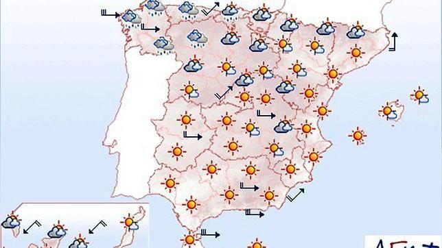 Mapa del tiempo para hoy - ABC.es