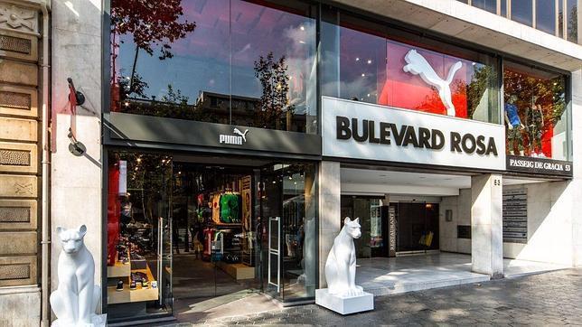 Imagen de la fachada de la nueva tienda de Puma en Barcelona f07405837b1fd