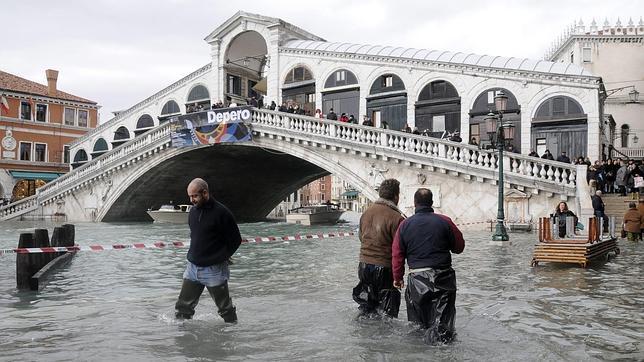 El cambio climático multiplicará las inundaciones en Venecia a finales de siglo